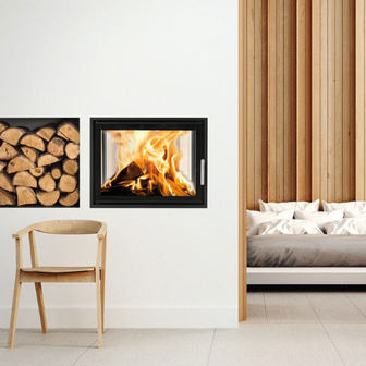 Woodfire EX Double-sided insert boiler stoves