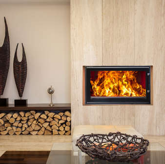 Woodfire inset boiler stoves
